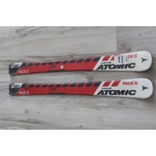 090 NEW kids skis ATOMIC Race, L90cm, R5m, 95mm- 65mm- 91mm