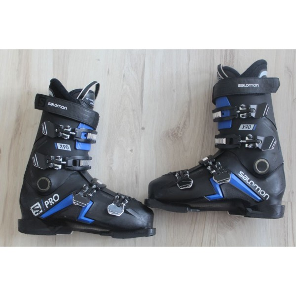 8037  SALOMON S PRO, 27- 27,5,  EU 42,5- 43,5, 314mm, flex 90- 2020