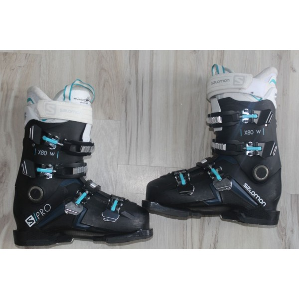 8061 SALOMON X PRO, 25- 25,5,  EU 40, 294mm, flex 80 - 2020