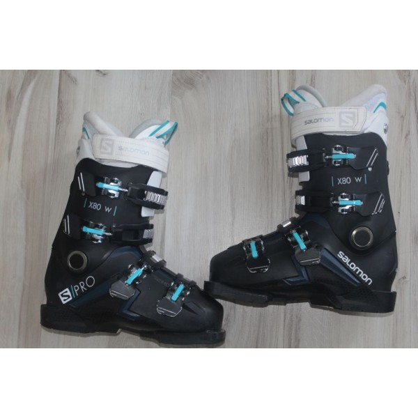 8069 SALOMON X PRO, 24- 24,5,  EU 38- 39, 284mm, flex 80