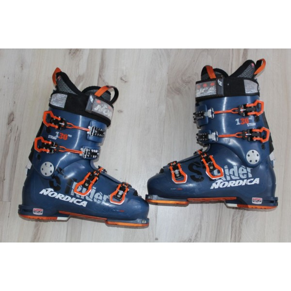 80  Nordica ST RIDER, 28- 28,5,  EU 43,5- 44, 325mm, flex 130 - touring ski boots