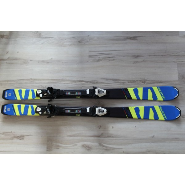 0910  SALOMON X RACE JR, L 130cm, R11m