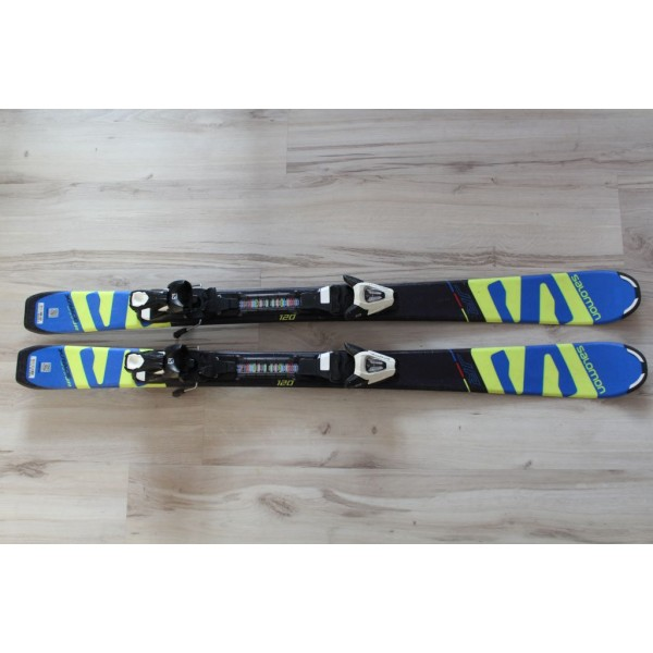 091000  SALOMON X RACE JR, L 120cm, R9m