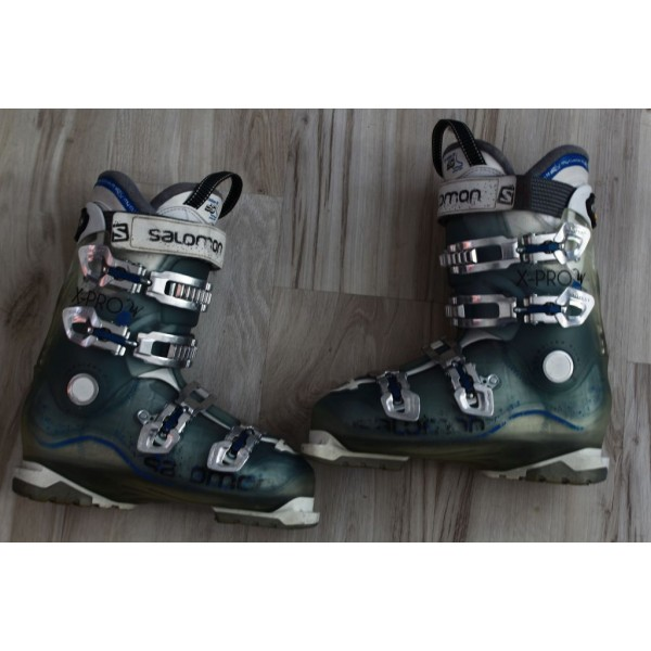 3437 SALOMON X PRO W  25.5, EU 39.5 - 40, 296mm,  flex 70
